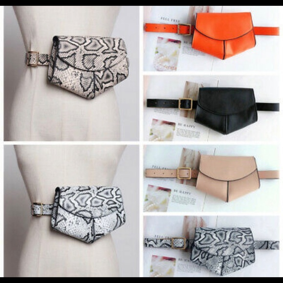 d63d1824f Women girl waist Fanny pack belt bag chest pouch t NWT